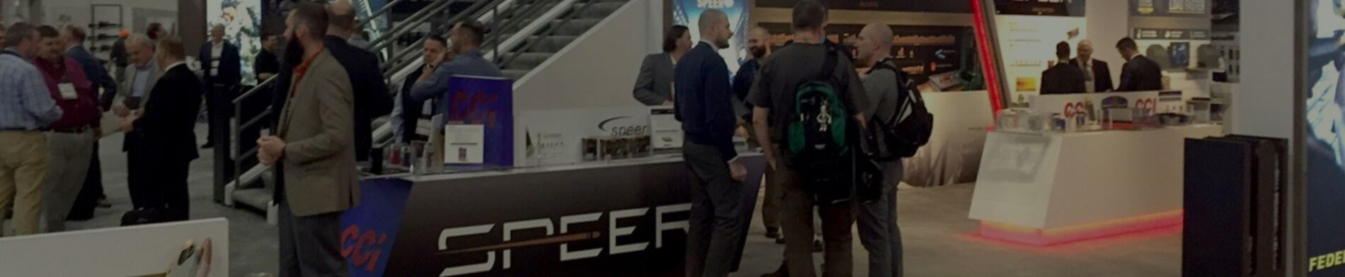 Speer booth at an Event