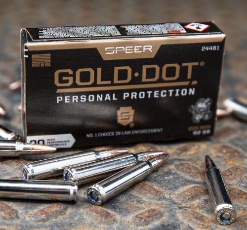 Gold Dot Rifle 223 packaging