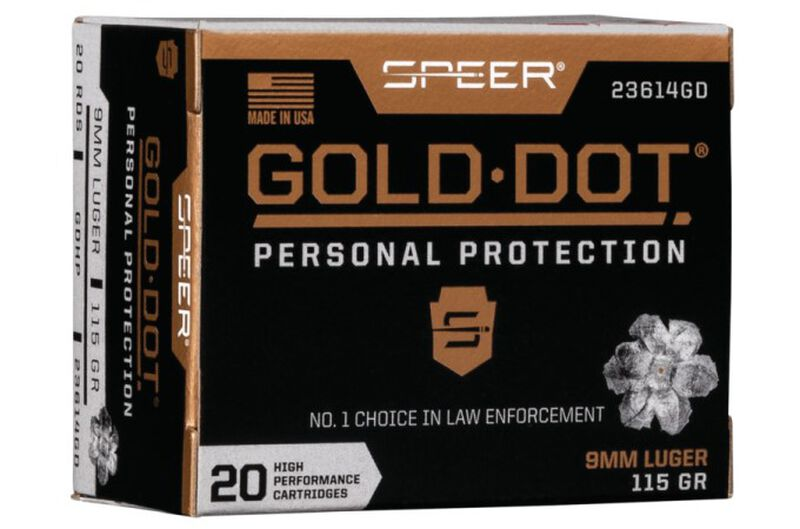 Gold Dot Personal Protection packaging