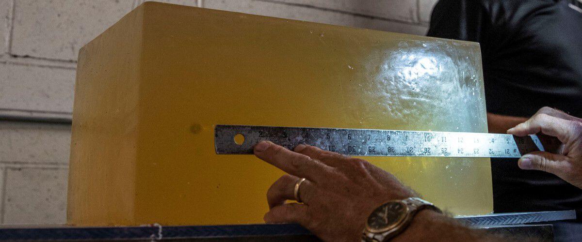 measuring penetration of bullet in gel
