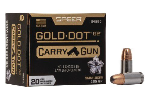 Gold Dot Carry Gun Packaging