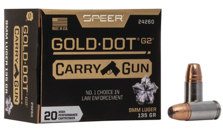 Gold Dot Carry Gun packaging