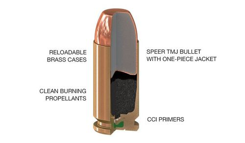 Lawman Bullet Diagram