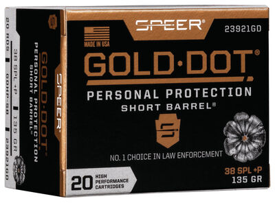 Gold Dot Short Barrel Personal Protection