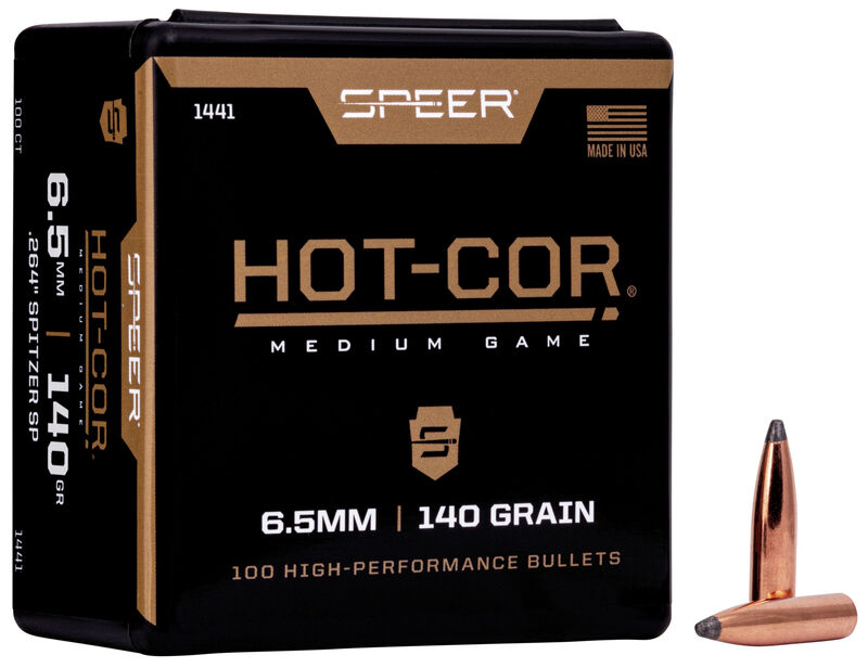 Hot-Cor Rifle Bullet
