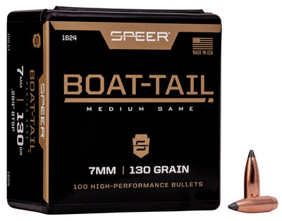 Boat-Tail Rifle Bullet