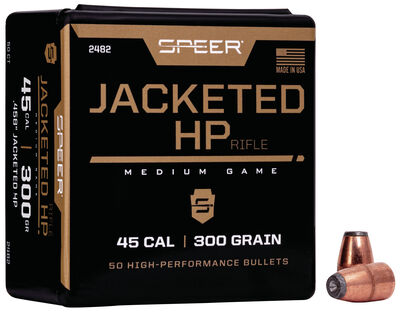 Jacketed Hollow Point Rifle Bullet