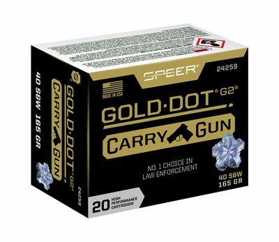 Gold Dot Carry Gun