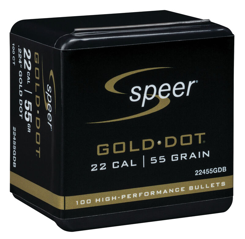 Gold Dot Rifle Component Bullet